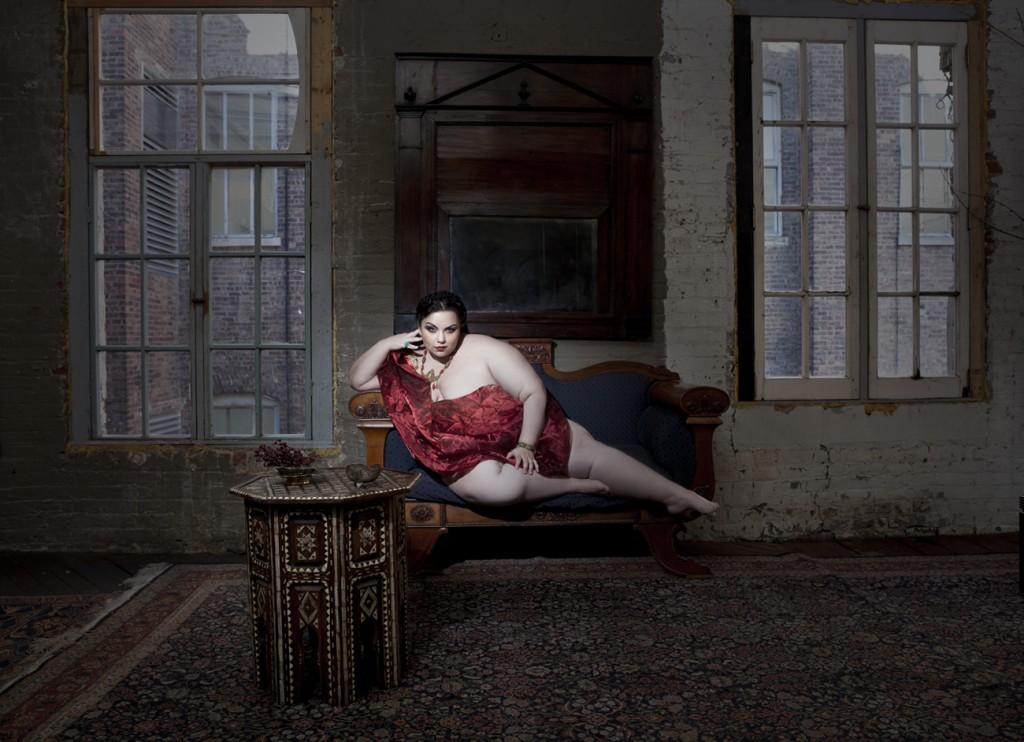 Emily, aus der Fotoserie Guerriere. Fotos (c) Elizabeth Raab