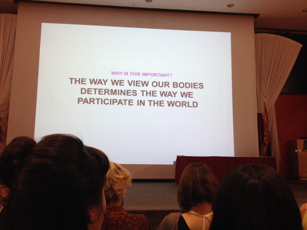 """""""Wie wir unsere Körper sehen, bestimmt, wie wir an der Welt teilnehmen"""""""