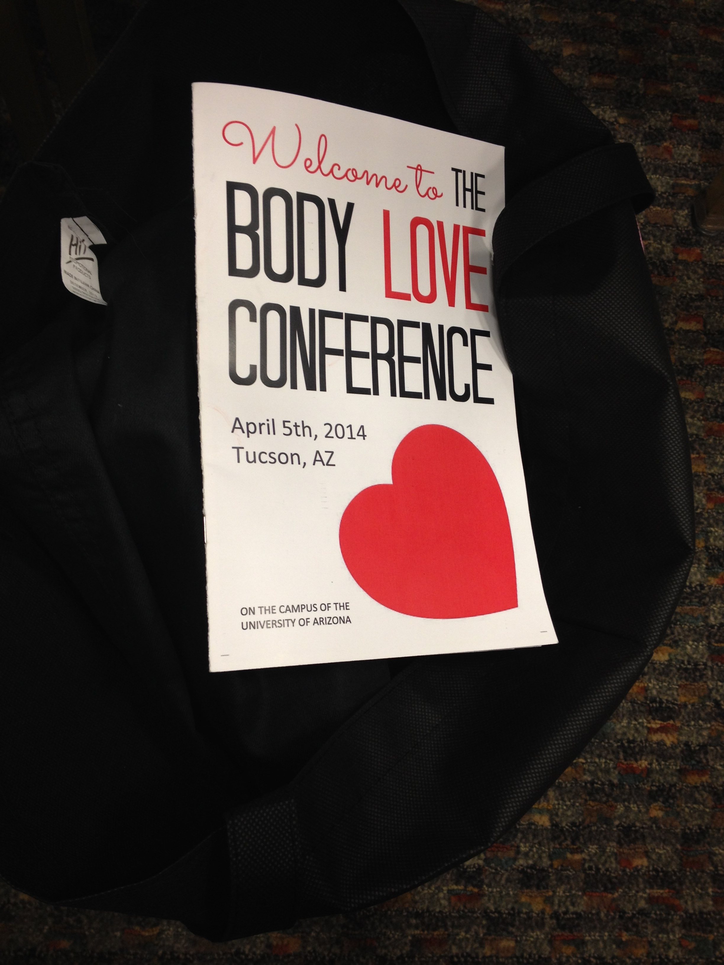 Programmheft der Body Love Conference – (fast) alle Fotos (c) Rhea Krcmárová