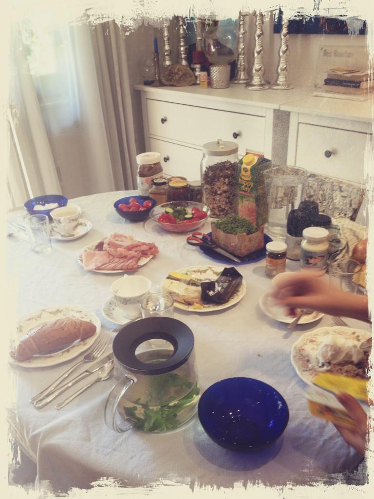 Frühstücksfreuden …