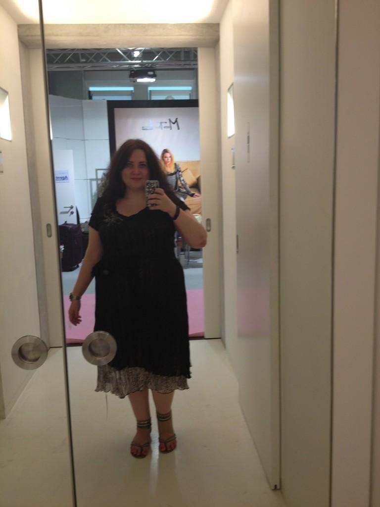 Eine Größe größer, und das Kleid wäre ideal …
