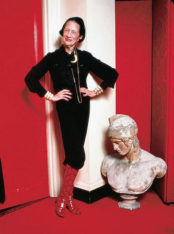 Diana Vreeland, die Grande Dame des Modejournalismus